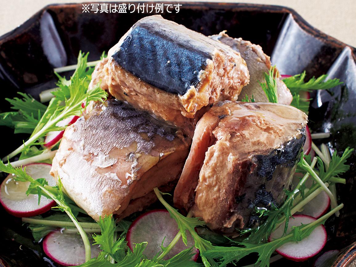 ハルメク 国産鯖の水煮缶(食塩不使用)(12缶)